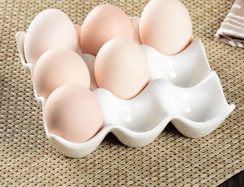 Kühlschrank Eierhalter 10 : Großhandel kreative 9 grids weiß keramik eierablage container