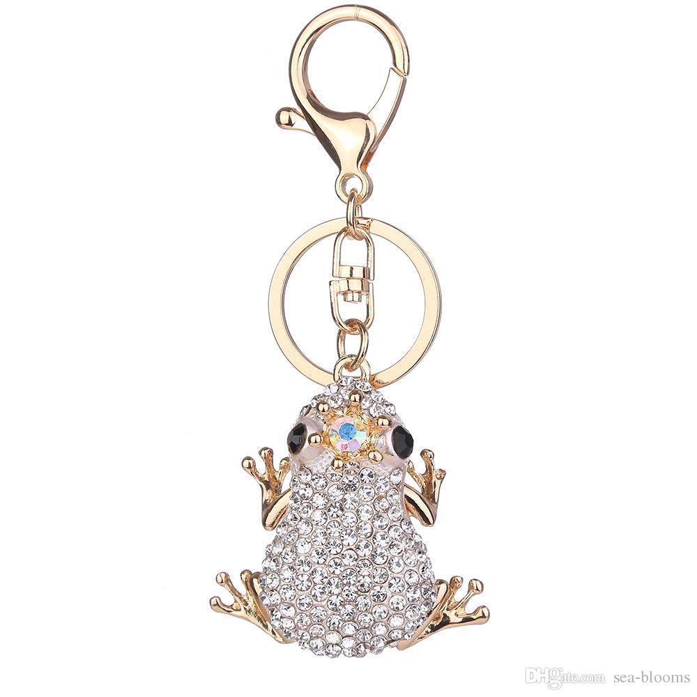 Free DHL 3 Styles Unique Crown Frog Keychain Fashion Metal HandBag Pendant Key  Rings Purse Bag Accessories Key Holder D323Q Car Keychains Batman Keychain  ... 500f10ed5