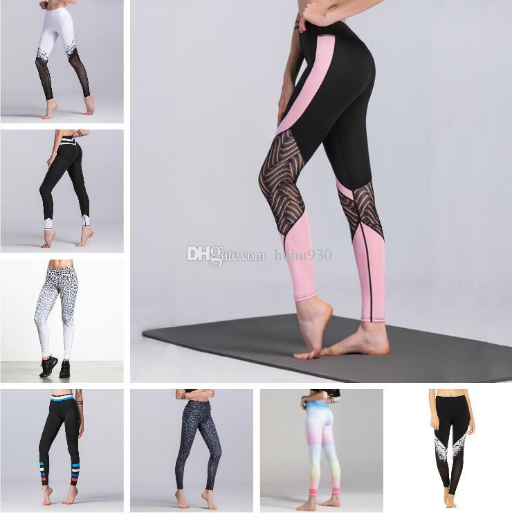 df462a41467d0 Acheter Pantalons De Yoga Pour Femmes Minceur Leggings Body Shaping Sport  Gym Leggings Serrés Stretch Athletic Pantalons 9 Couleurs De $7.7 Du  Huhu930 ...