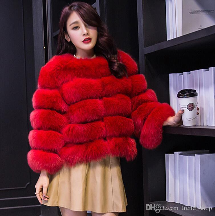 1334ca0ba0c 2019 Simplee Vintage Fluffy Faux Fur Coat Women Short Furry Fake Fur Winter  Outerwear Pink Coat 2018 Autumn Casual Party Overcoat From Trend_shop, ...