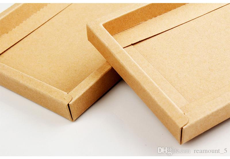 Personalized Gift Kraft Paper Packaging Box for iPhone 7 Plus Case Window Retail Packaging Case for iPhone X Case