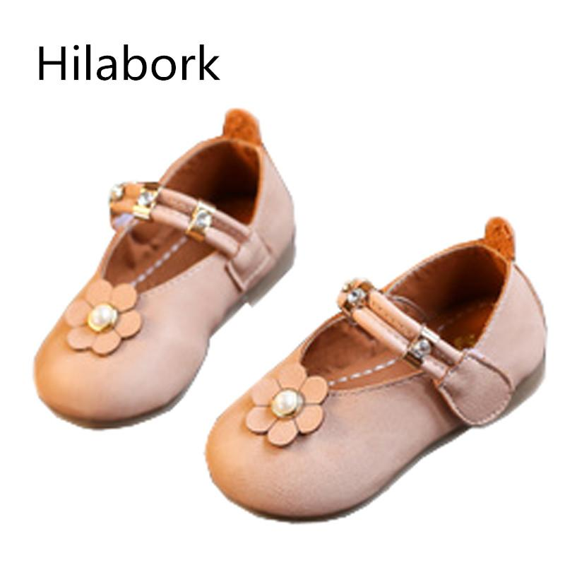 Hilabork Childrens Girls Party Shoes Princess Shoes Pink Baby Girl