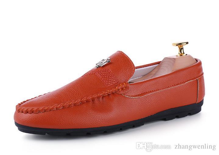 Chaussures pour hommes en cuir Chaussures habillées pour hommes avec bout pointu Bullock Oxfords Chaussures pour hommes, Luxe Designer