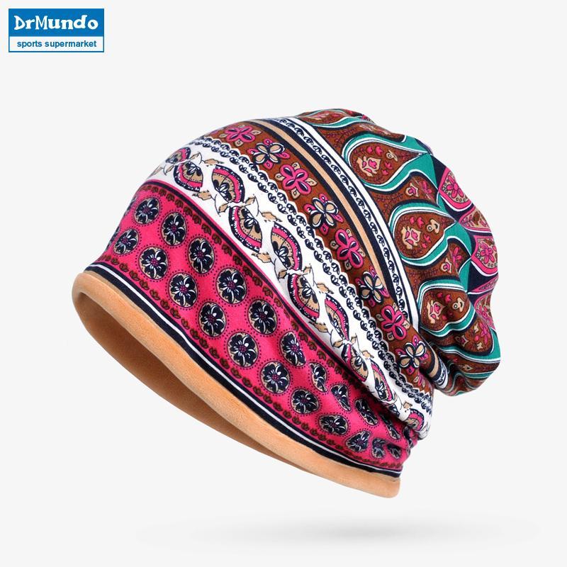 17314e0b9ef 2019 Winter Sport Ski Face Mask Fleece Beanie Hats Dual Use French Velvet  Outdoor Cycling Snow Bibs Hat Women Bonnet Hat Mask Scarf From Yerunku
