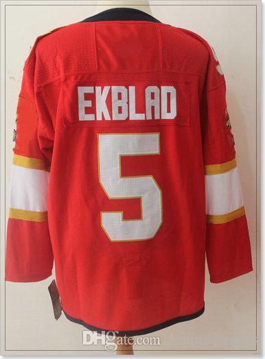 New Florida Team #1 Roberto Luongo 5 Aaron Ekblad 16 Aleksander Barkov Mens Ice Hockey Shirts Pro Sports Jerseys Cheap Stitched Embroidery
