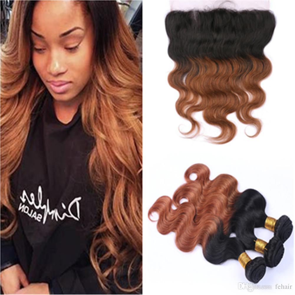 acheter bundles de cheveux humains avec des cheveux auburn sur le