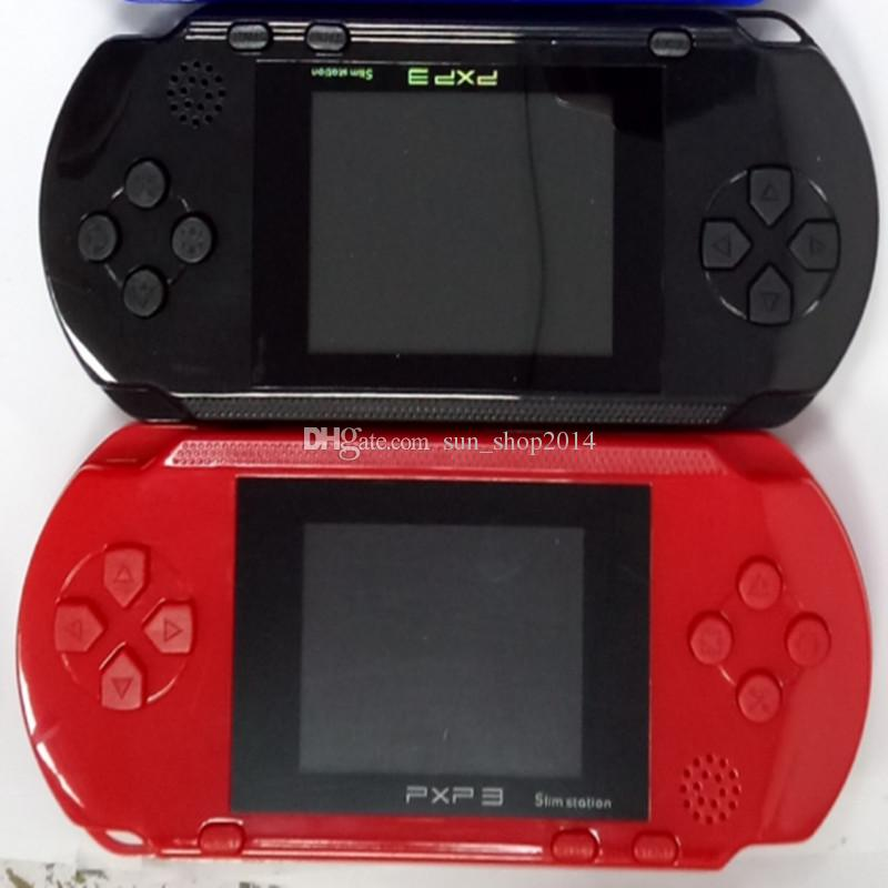Factory Wholesale Portable PXP3 Games Console 16 Bit PVP TV-Out Games PXP Gaming Console Player Child Intelligence games
