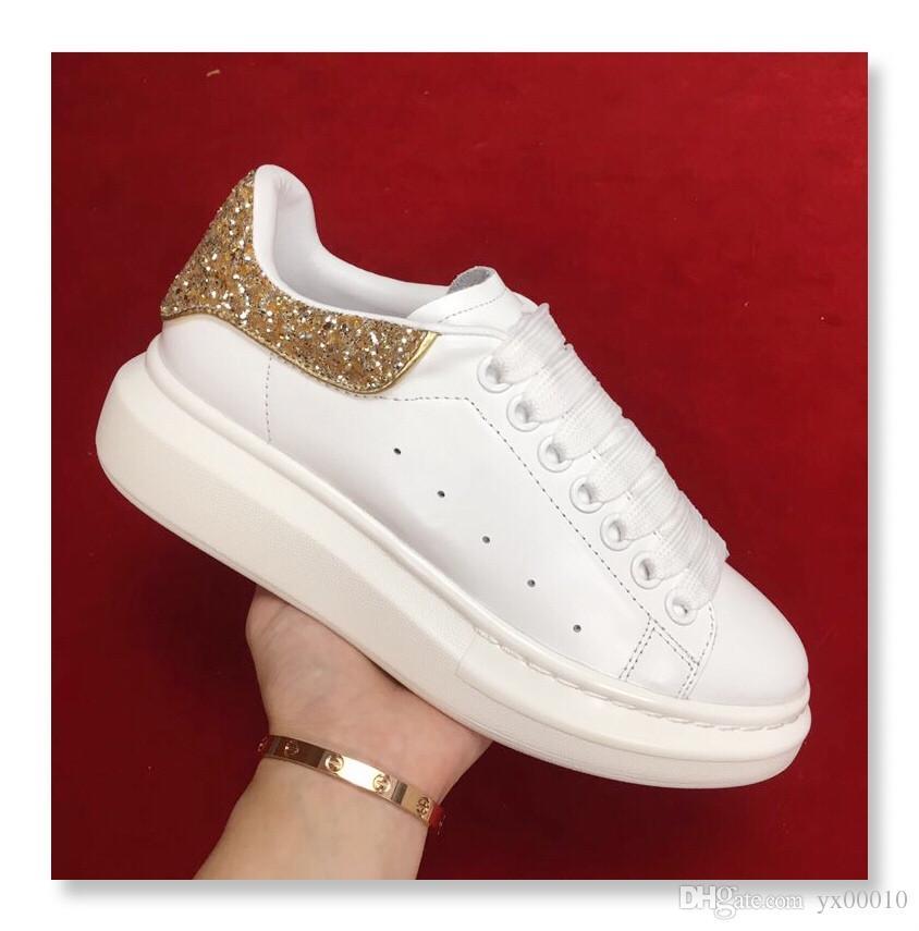 f6ccea0a Diseñador de Mujer Cuñas Zapatos de Lujo Marca Moda Chicas Mujeres Zapatos  Casuales Plataforma Femenina de Aumento de Altura Zapatillas de deporte ...