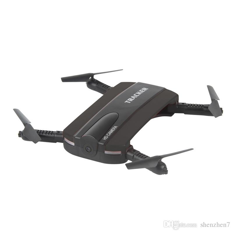 New arrival Phone Control JXD523 Tracker Foldable Mini Rc Selfie Drone with Wifi FPV 720P HD Camera Altitude Hold&Headless Mode OTH770