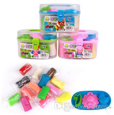 Diy Clay Toys Children S Learning Education Toys Plasticine With