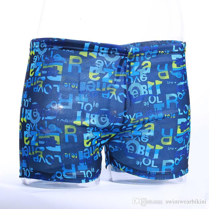 DHL buona spiaggia pantaloni pantaloni Costumi da bagno Low Rise Sexy Pouch uomo Pantaloncini da bagno Pantaloncini da bagno Costume da bagno Uomo Triangolare Surf Swim Trunks