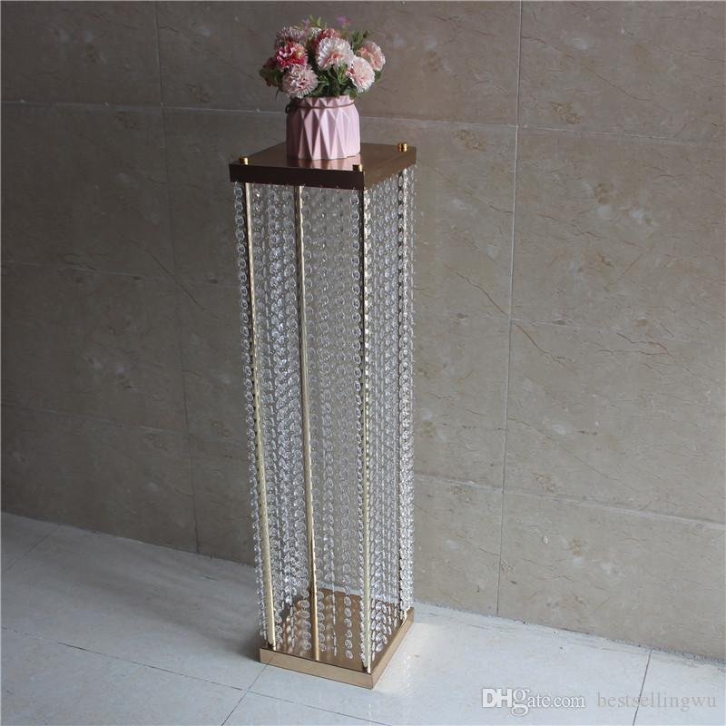 120cm Tall Fashion Wedding Decoration Road Cited Flower Stand With