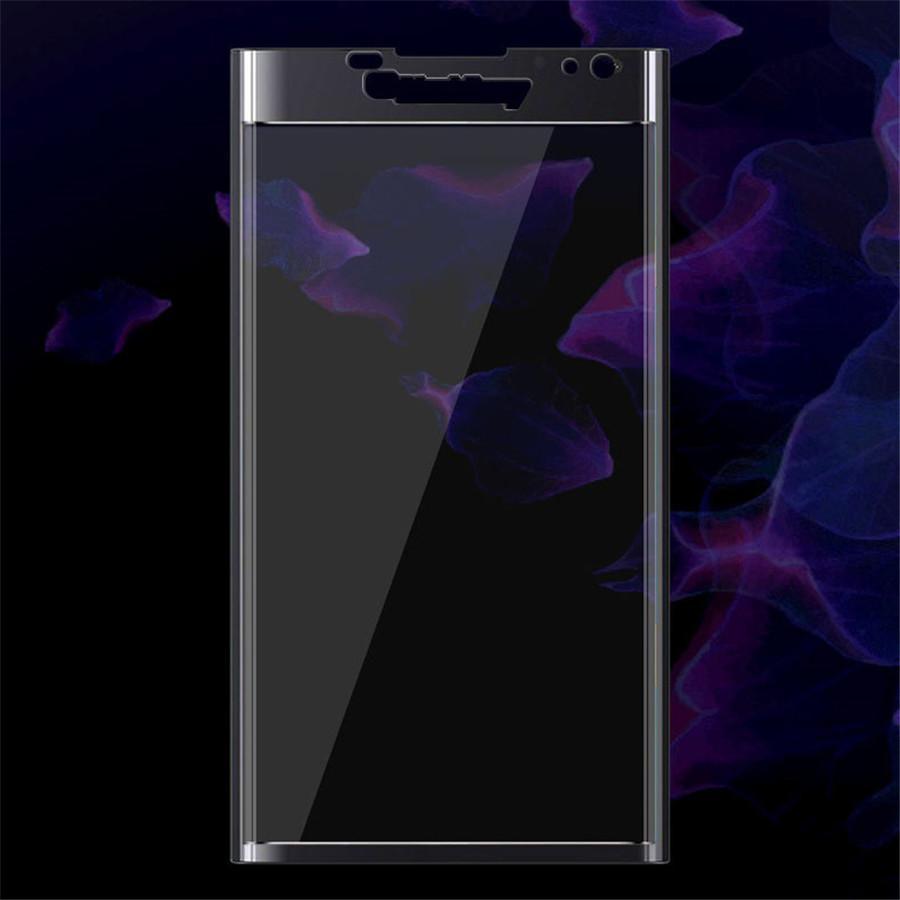 Plein écran 3D côté courbé pour Blackberry Keyone Blackberry Key2 deux Priv Protecteur d'écran en verre trempé 0.2MM avec boîte en bois