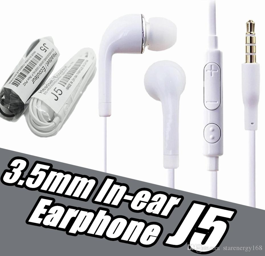 df09271aab2 High Quality 3.5mm In Ear Earphone With Mic For Samsung Galaxy S4 J5 Iphone  Sony Xiaomi Smart Mobile Phone Without Retail Box No Logo Bluetooth Phone  ...