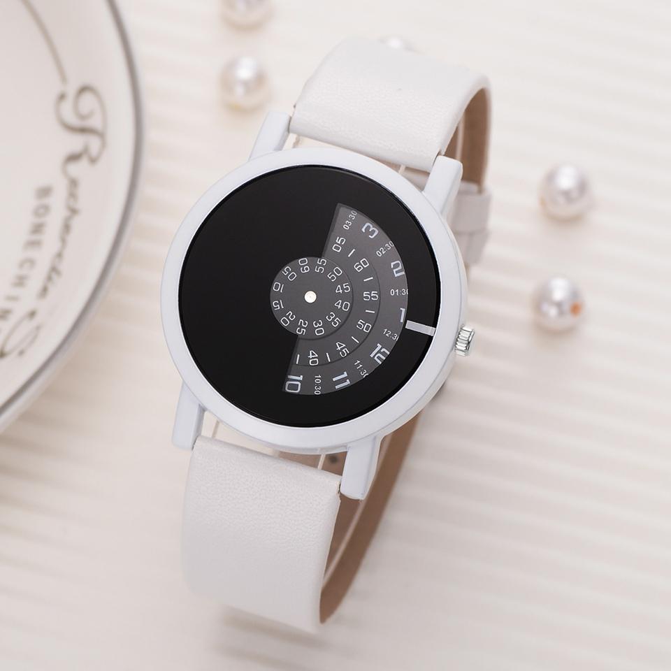 d1542d97d9 Creative Design Wristwatch Camera Concept Brief Simple Special Digital  Discs Hands Fashion Quartz Watches For Men Women