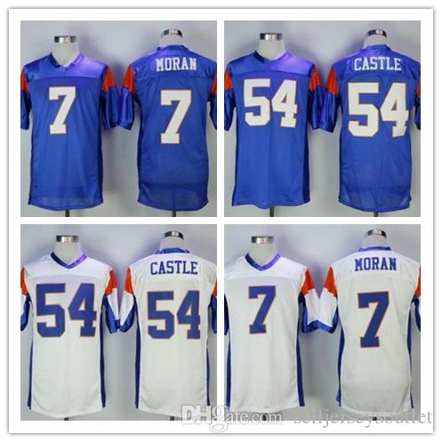 a02b9766781 New Mens Dwaynes Blue Mountain State Movie Jersey 54 Kevin Thad ...