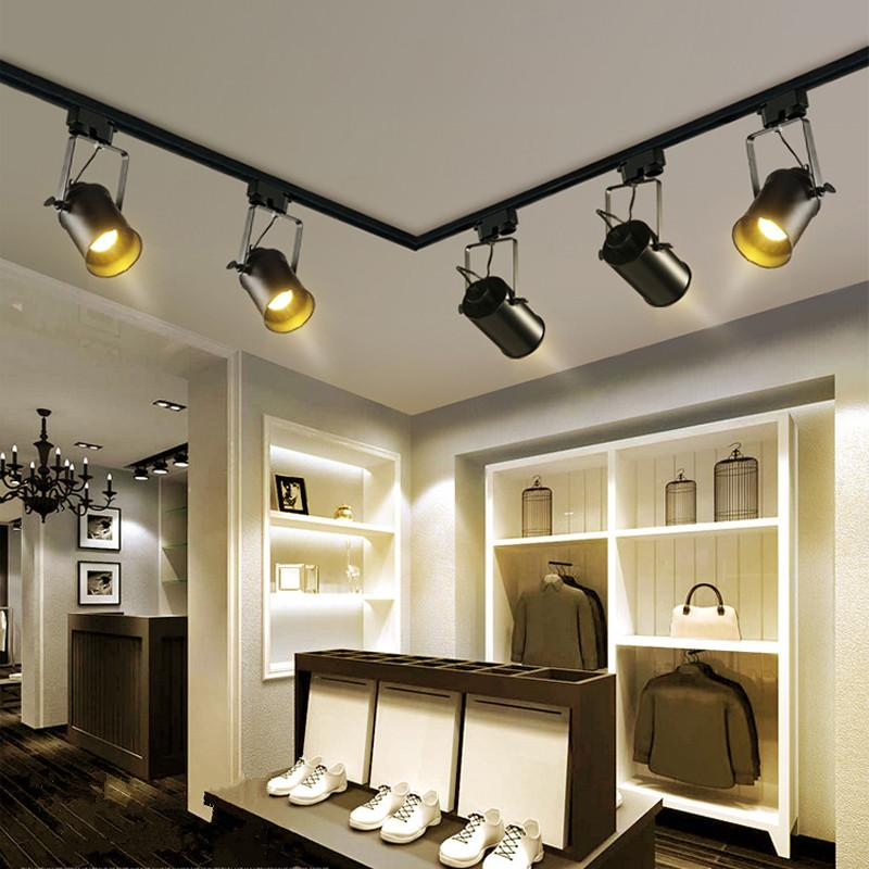 Lighting Retail Stores: 2019 Retro Style LED Ceiling Lights Adjustable Angle