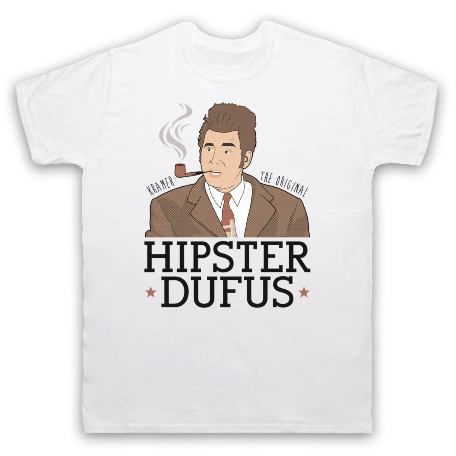 cafc9268 Cosmo Kramer Hipster Dufus Unofficial Seinfeld T Shirt Adults & Kids Sizes  Cols White T Shirts Offensive T Shirts From Cozyroam, $24.2| DHgate.Com