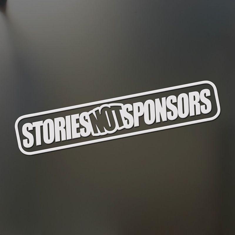 Geschichten Nicht Sponsoren Antrieb Aufkleber Lustige Jdm Drift Ließ Autofenster Heckfenster Auto Aufkleber