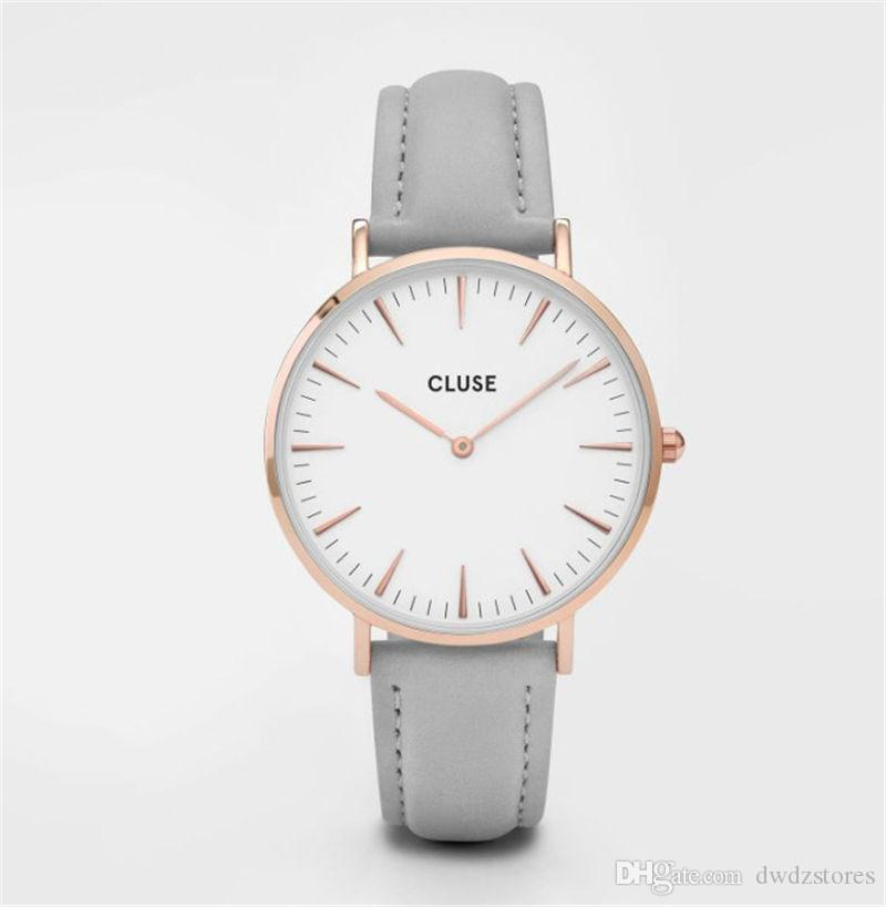 2211f7d114 2019 Women Top Brand Brand Quartz Watches Women Famous Brand Gold Leather  Band Wrist Watches Relojes Montre Homme Erkek Kol
