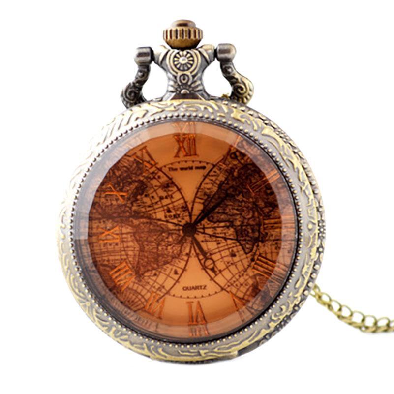 918f990054b3 Compre Reloj De Bolsillo Para Hombre Con Cadena Vintage Enfermera Watch  Clip Montre Infirmiere Mapa De Vidrio Unisex Casual Retro Reloj De Bolsillo  A  22.75 ...