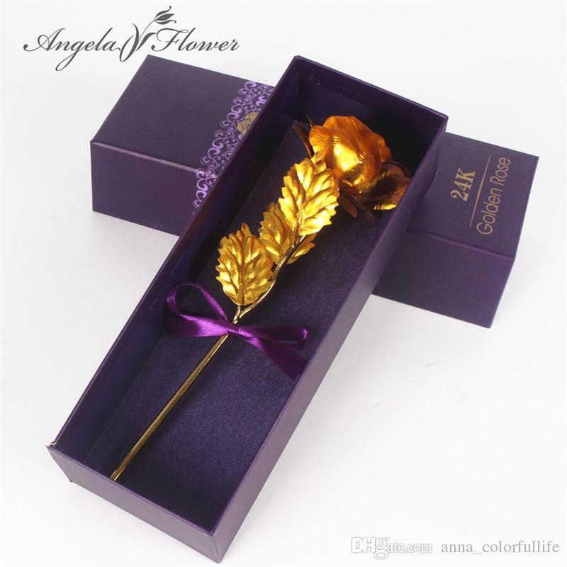 2019 24k Gold Foil Paper Plated Rose Gold Leaf Wedding Supplies
