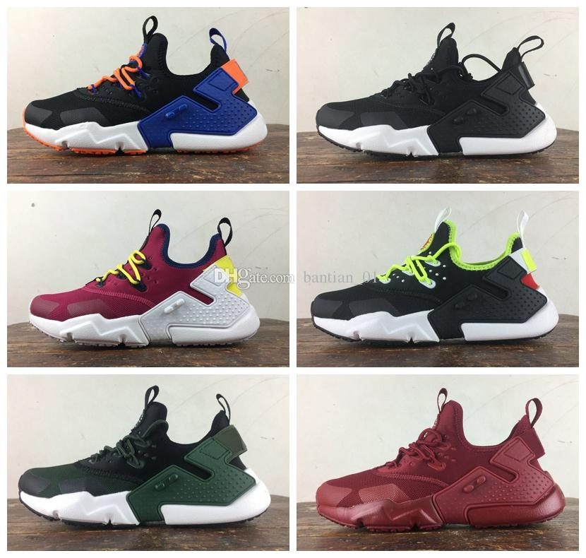 0d60ed4a05b Air Huarache Drift 2018 Newest Huaraches Ultra Breathe Hurache 6 Running  Shoes Men Women Huraches Sports Sneakers Size 36-46