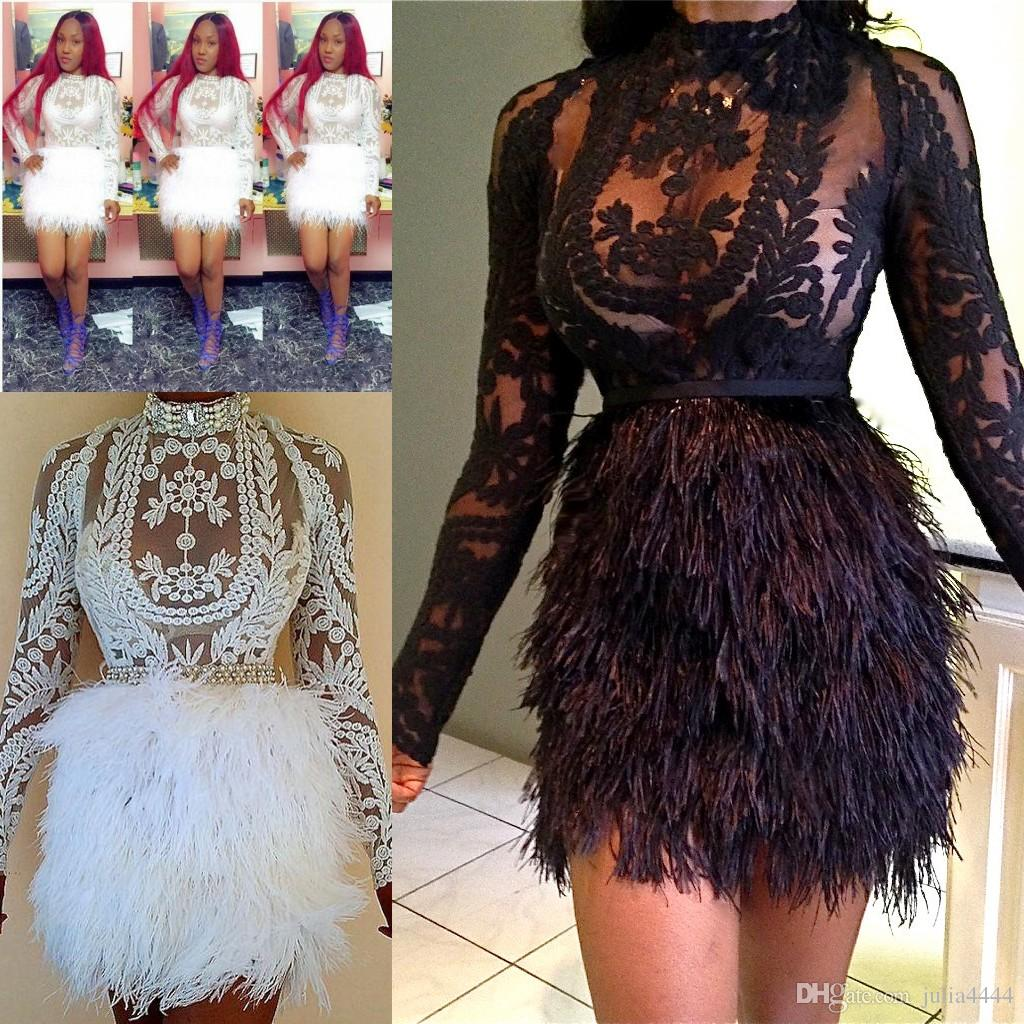 Feather Dresses 2018