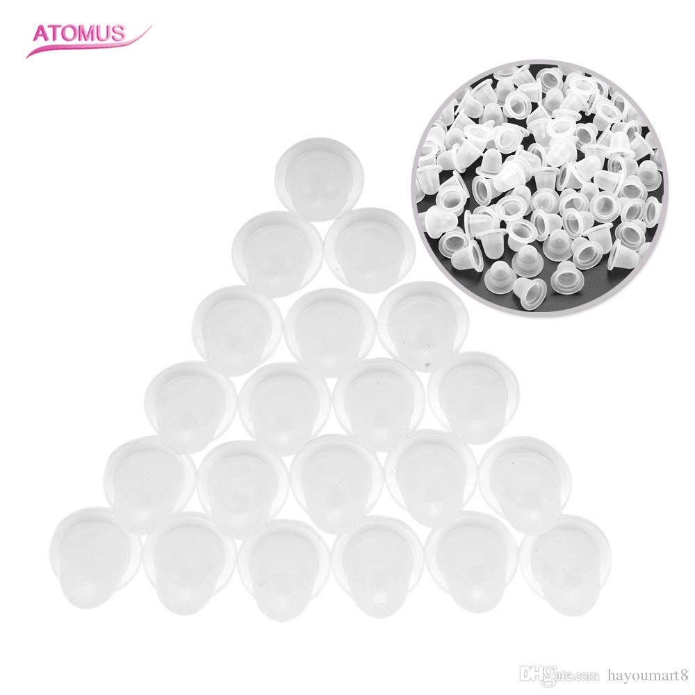 100pcs Medium Size Tattoo Ink Cups Caps Supply Professional Permanent  Tattoo Accessory For Tattoo Machine Plastic