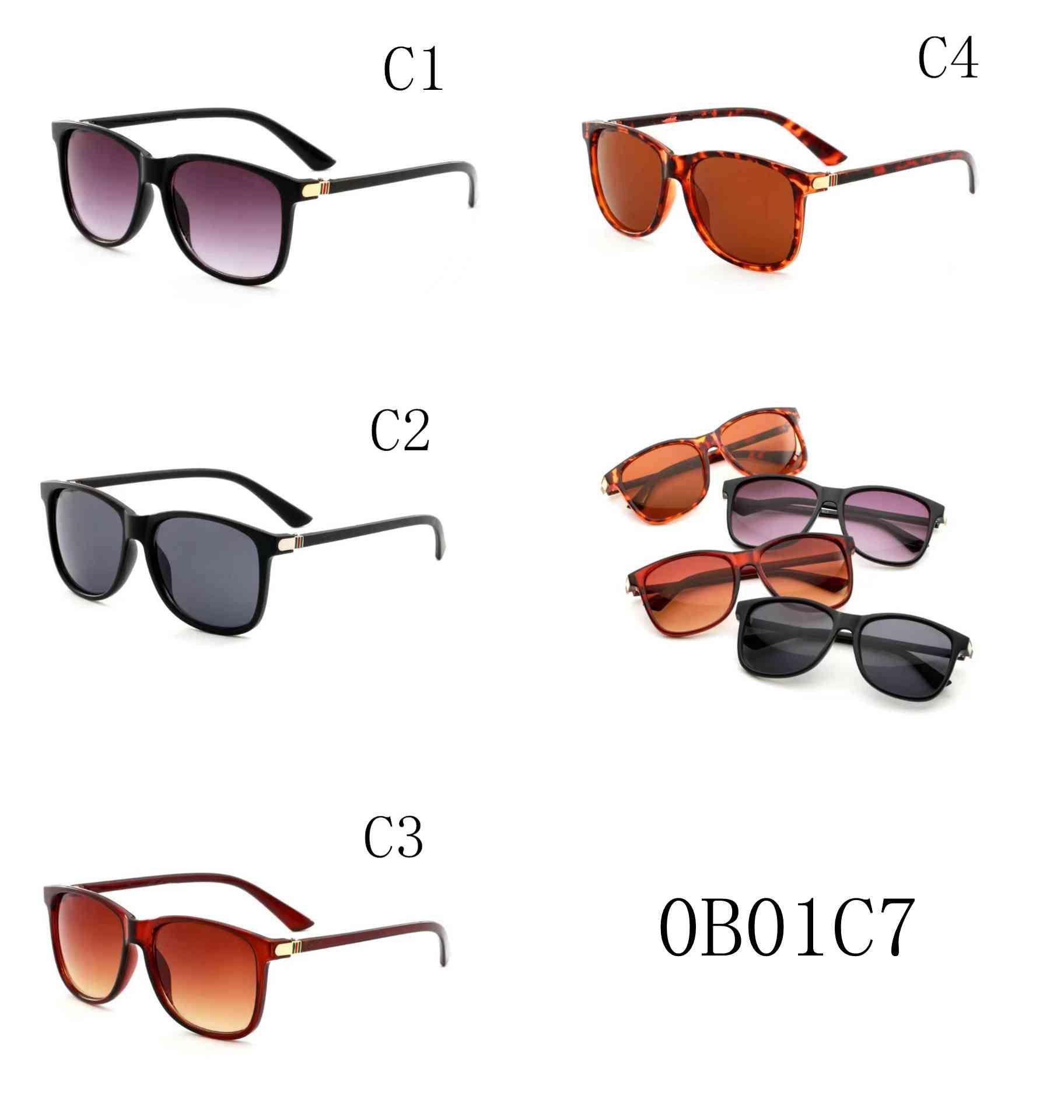 2018 new /Wholesale Sunglasses Men Classical Womens Sun Glasses Brand Designer Coating Eyewear Lunette de Soleil 0017