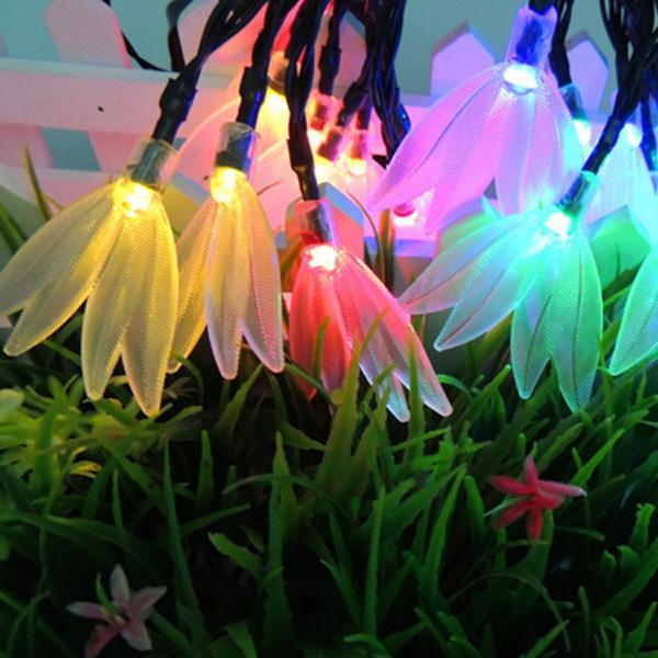 4.8 M 20LED Yusufçuk / Elk / Noel Ağacı / Yonca LED Dize Işık Peri Tatil Işık Düğün dekor Lamba Su Geçirmez P22