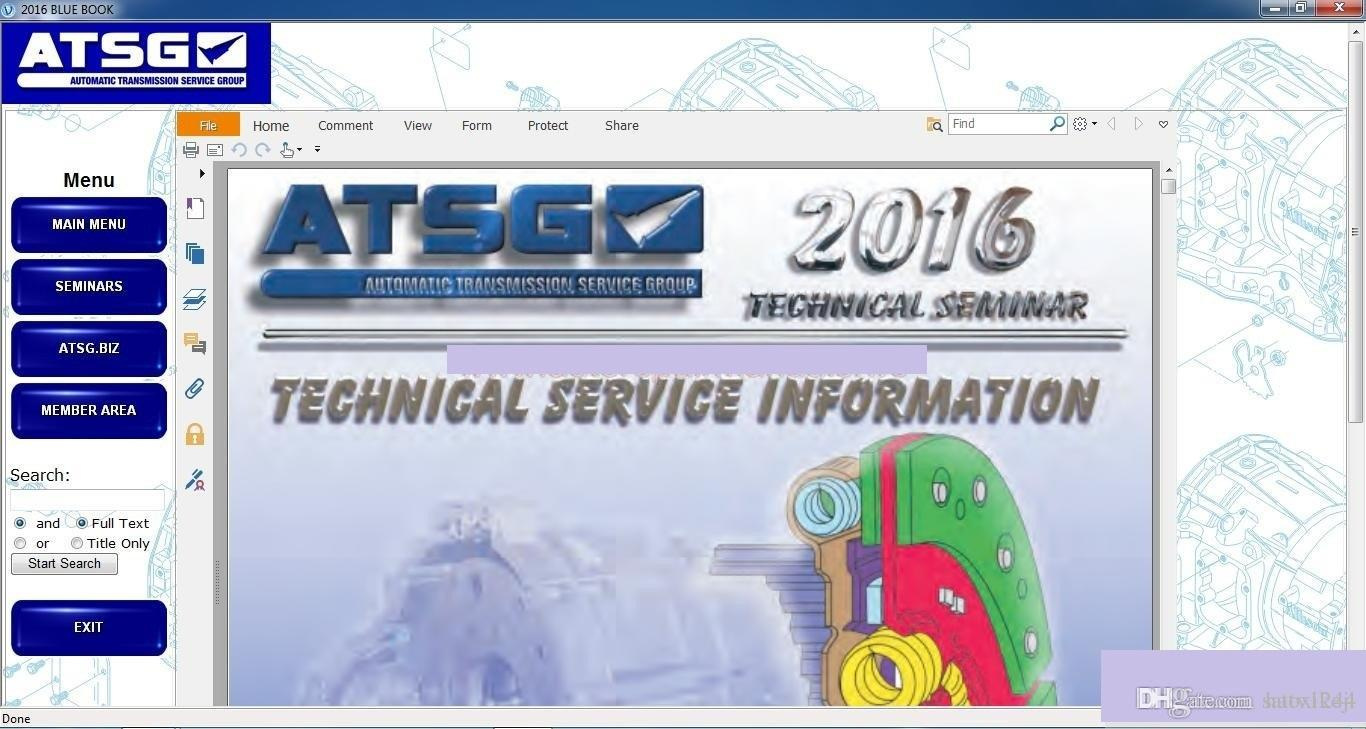 ATSG 2017 Automatic Transmision Service Group On Repair And Service Of  Automatic Boxes Of Transfers Diagnostic On Car Diagnostic On Cars From  Haoxikeji, ...