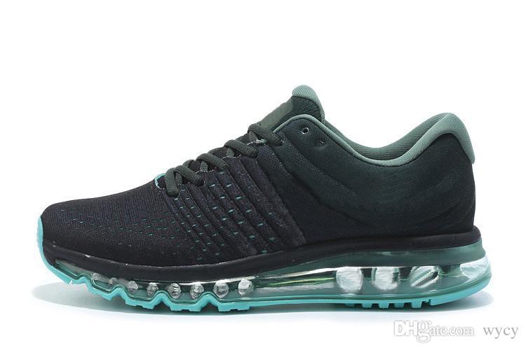 2017 vendita calda di alta qualità maglia maglia sportswear uomo donna 2017 scarpe da corsa economici sport allenatore sneakers eur 36-45