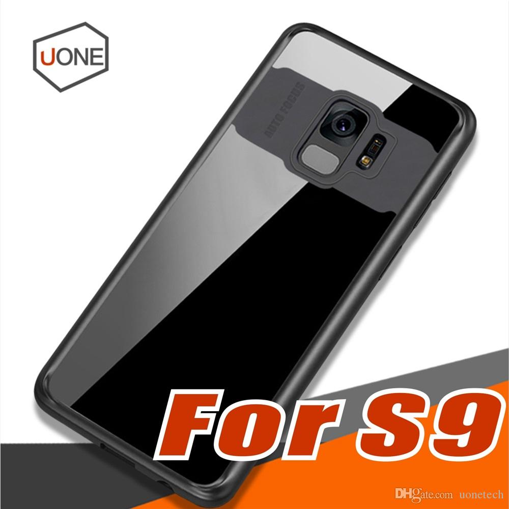 sale retailer 1ad5c 67ef8 For Samsung Galaxy S9 S9 Plus Silicone Clear Phone Cases Transparent PC &  TPU Slim Back Cover Case For J3 J5 J7 pro prime case