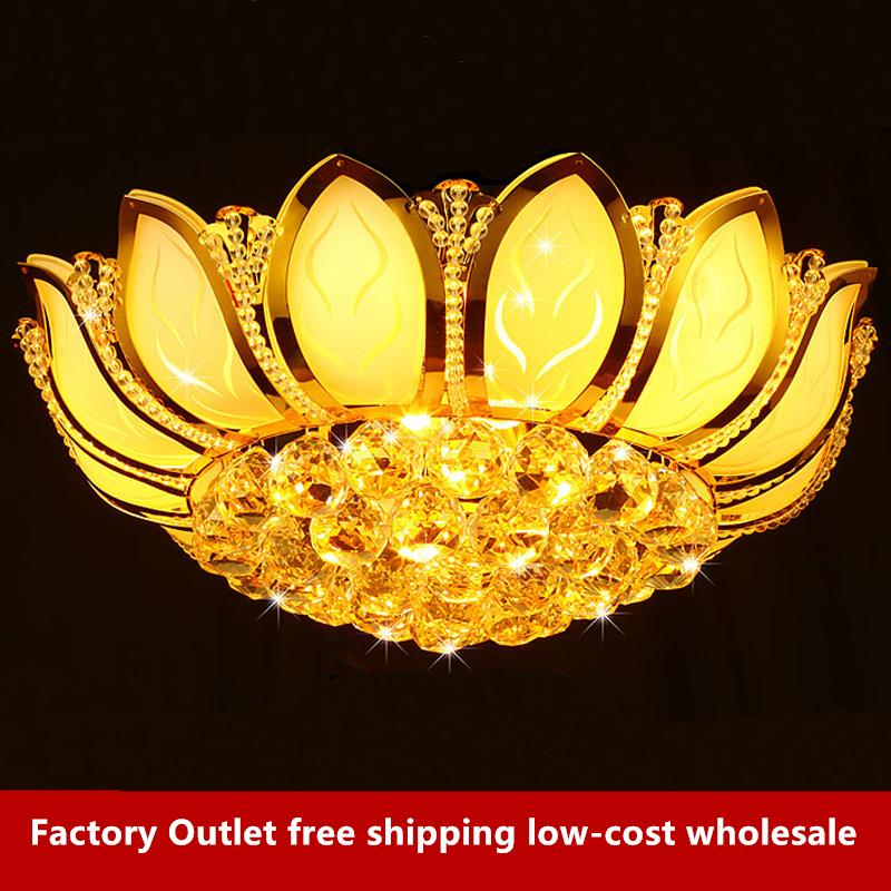 Flower Modern Ceiling Light With Glass Lampshade Gold Ceiling Lamp For Living Room Bedroom Lamparas De Techo Abajur Excellent Quality Lights & Lighting