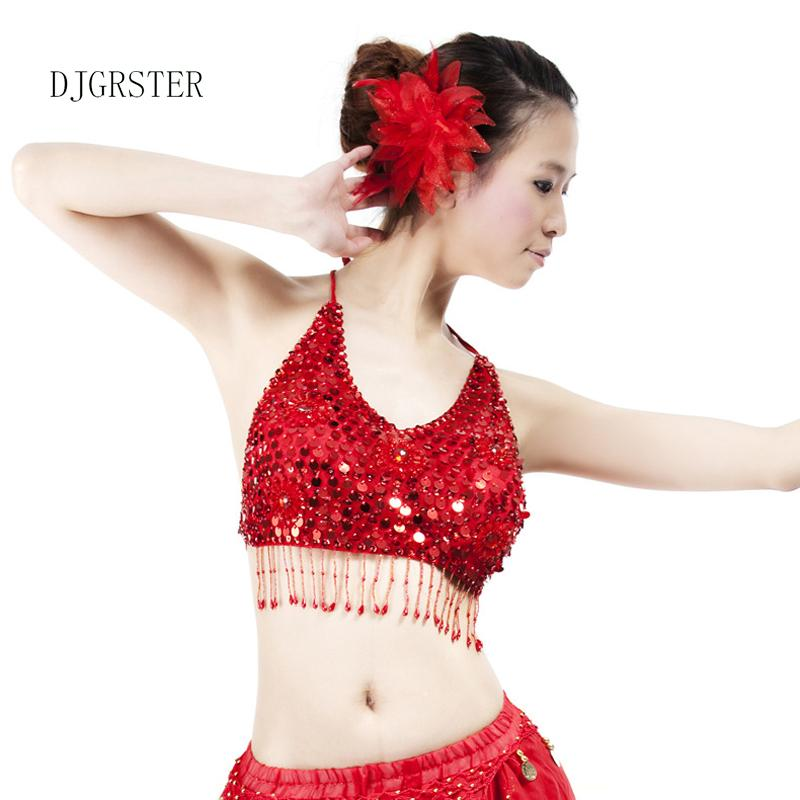 dcf336147ad2 2019 DJGRSTER Stage Performance Plus Size Luxury Belly Dancing Egyptian  Costumes Oriental Style Sequins Bra Belly Dance Costume From Jiuwocute, ...