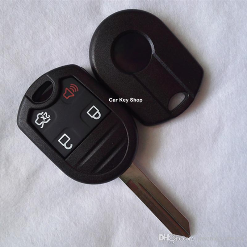 Replacement Remote Key Shell   Botton For Ford Edge Raptor Keyless Remote Fob Key Case Shell