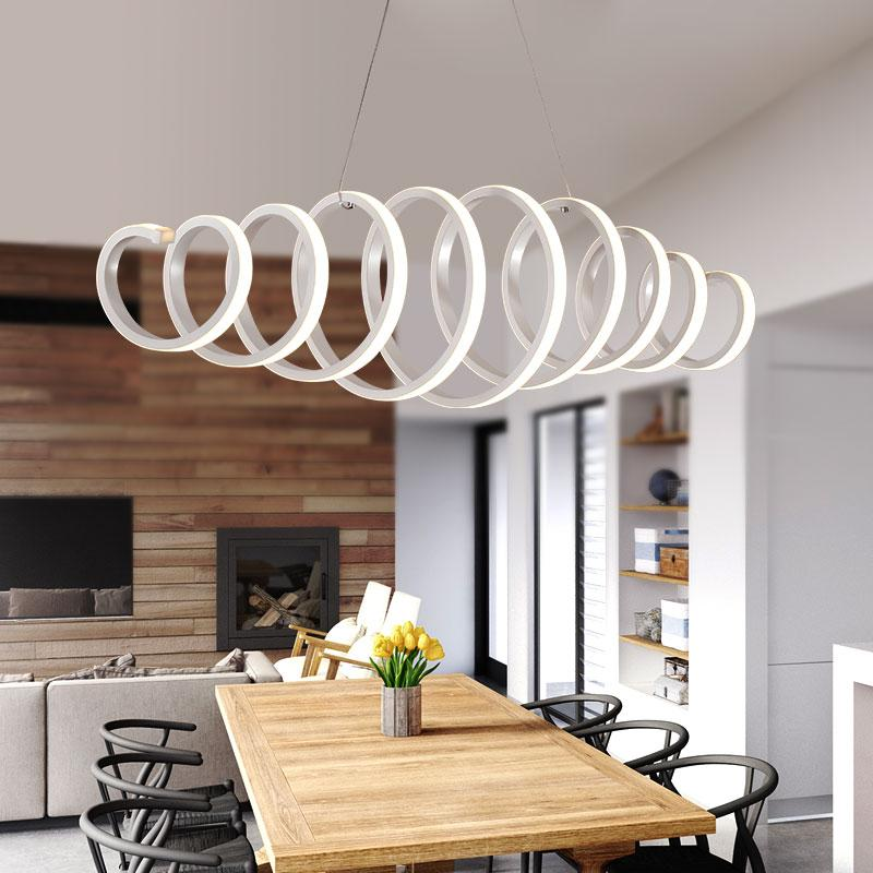 Modern Led Pendant Lights For Living Room Dining Room Restaurant Custom Modern Dining Room Pendant Lighting Property