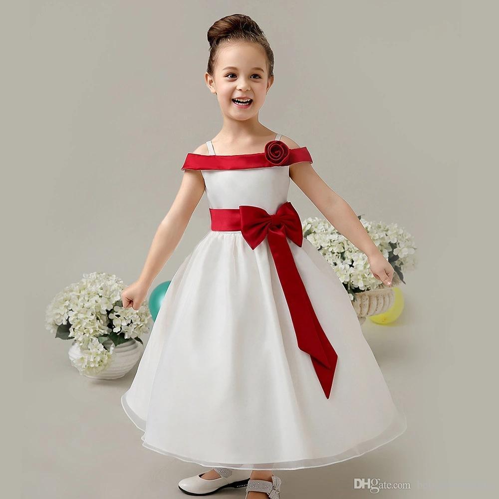 Lovely Girls Pageant Dresses Lace Flower Girl Dress Elegant Off ...