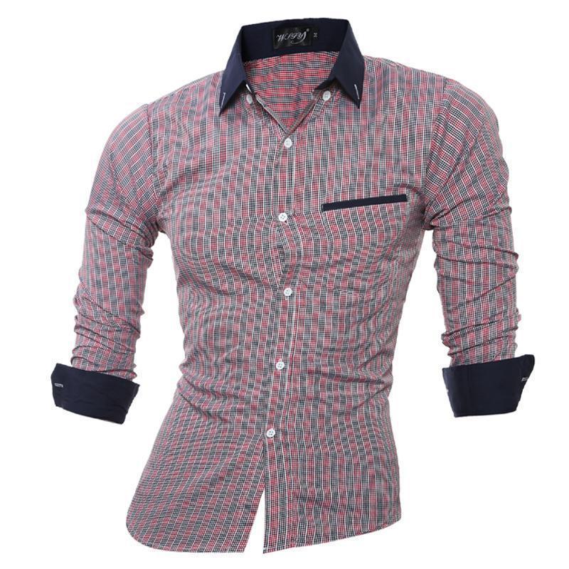 Casual Shirts Zeeshant Chinese Style Men Shirt Long Sleeve Solid Casual Streetwear Men Shirt Man Cotton Linen Shirt Men Clothes 2019 New Men's Clothing