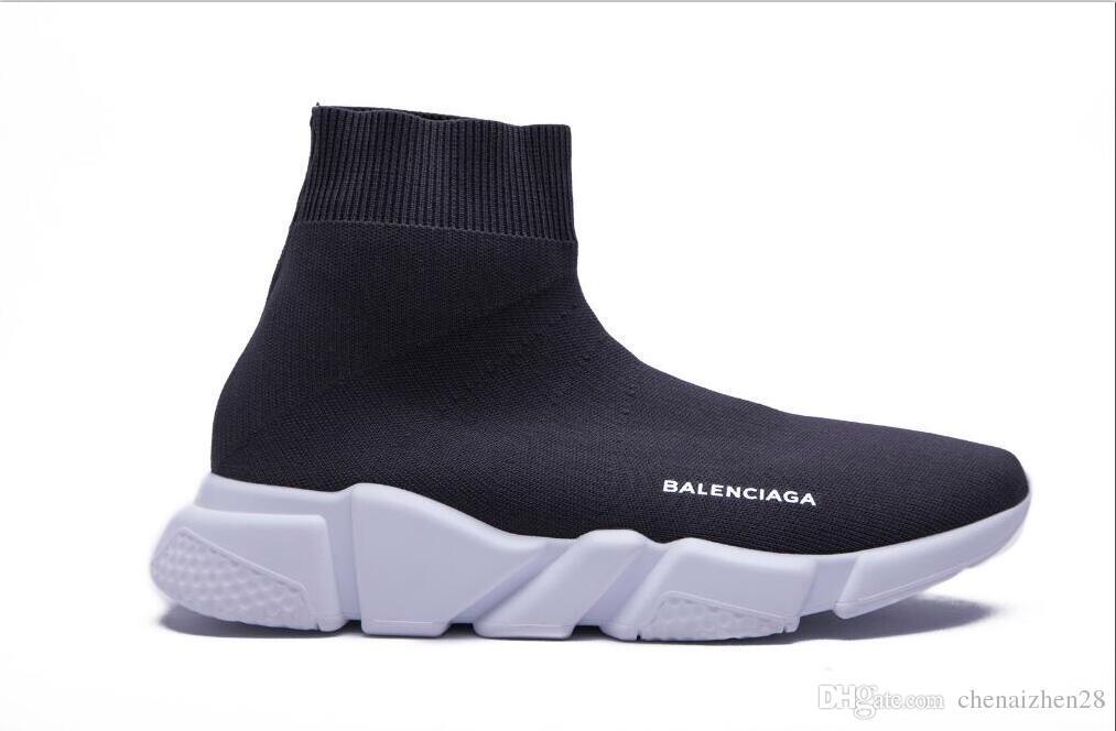 ebb67b965dff Balenciaga Casual Shoes Luxury Socks Boots Women New Slip-on Elastic ...