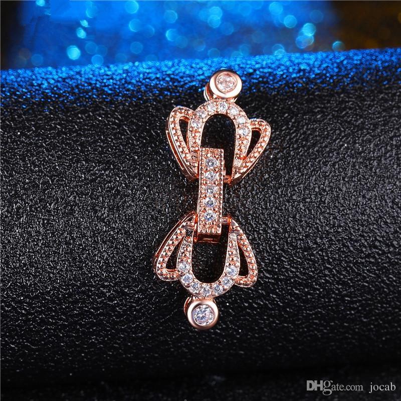 Оптовая ручной работы DIY ювелирные изделия аксессуары поставки мода разъемы застежки для браслеты ожерелья компоненты бисера жемчуг DIY выводы