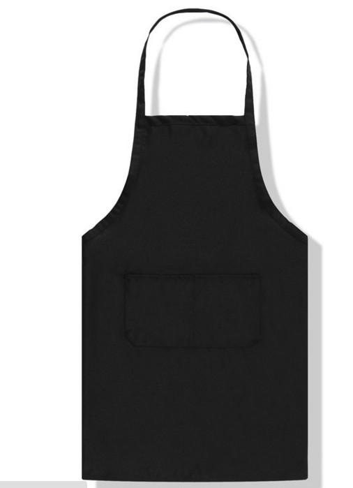 Professional Black Bib Kitchen Apron, Cooking Apron, Chef Aprons ...