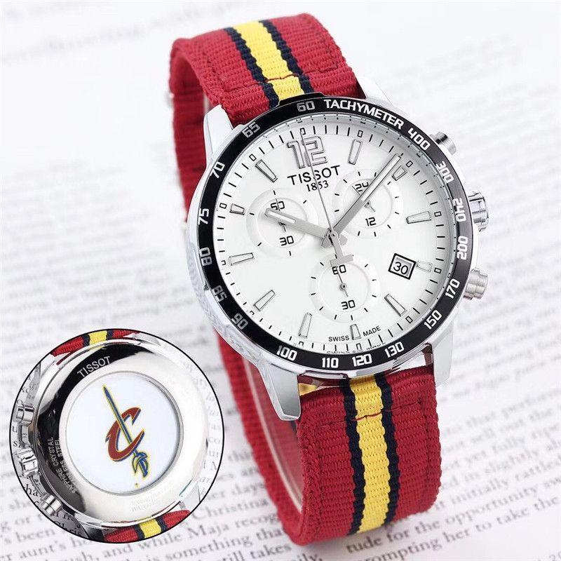 952469ddbd7 Compre Relógio De Nylon Homens Marca Suíça 1853 Aaa Mens Relógios De Luxo  Moda Casual Relógio De Pulso Esportes Mulheres Designer Montre De Luxe  Relógio ...