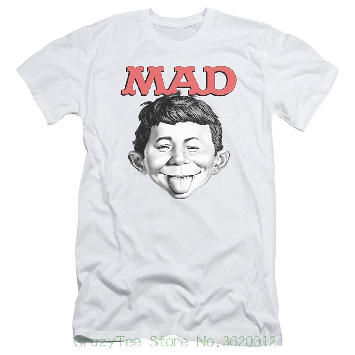 828de97f98eac1 Acquista Magliette Divertenti In Cotone A Manica Corta Mad Magazine Media  Satira Humor Pop Culture U Mad Adult Slim T Shirt Tee A $15.53 Dal  Liguo0034 ...