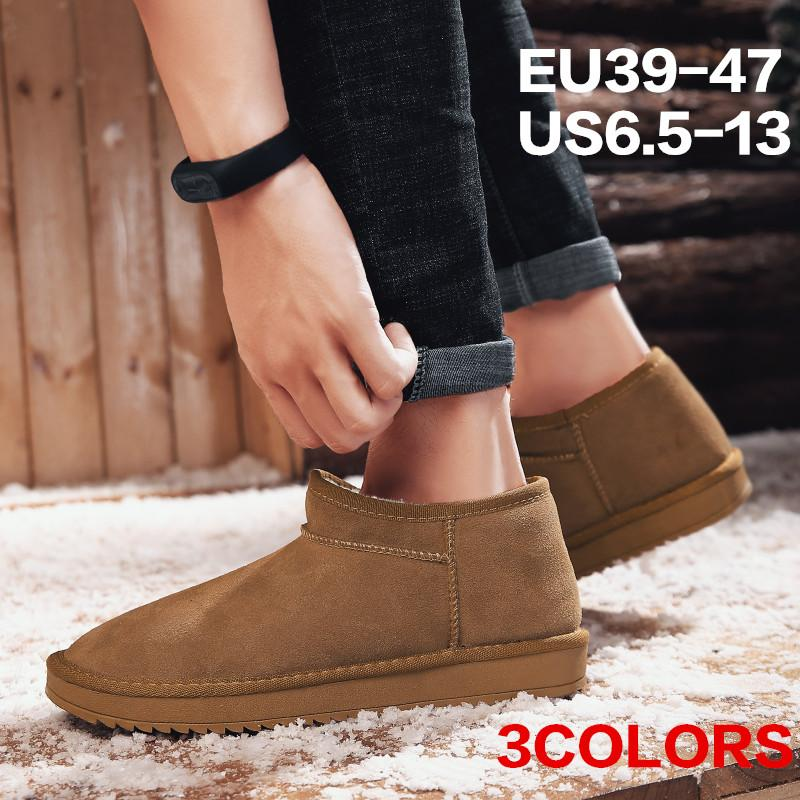 a6b7bcb74e5d Men S Cozy Memory Foam Slippers Fluffy Micro Suede Faux Fur Fleece Lined House  Shoes With Non Skid Indoor Outdoor Slip On Bootie Slippers Wide Calf Boots  ...