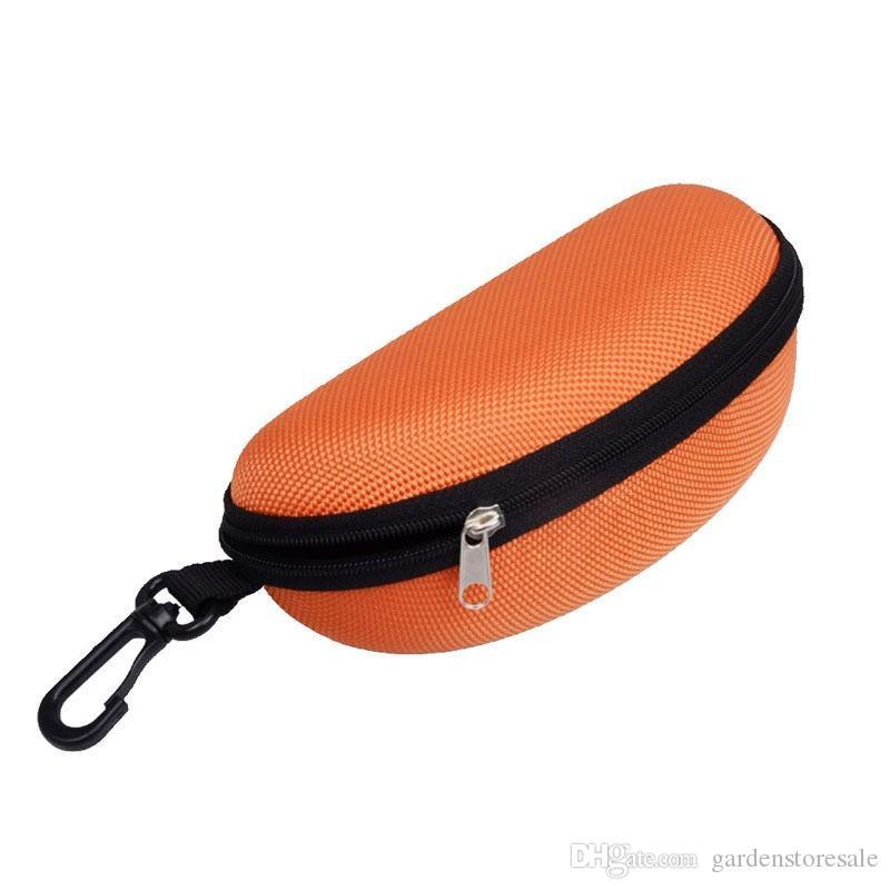 8 Couleurs Lunettes de Soleil Lunettes de Lecture Carry Sac Dur Zipper Box Voyage Pack Poche Case Nouveau