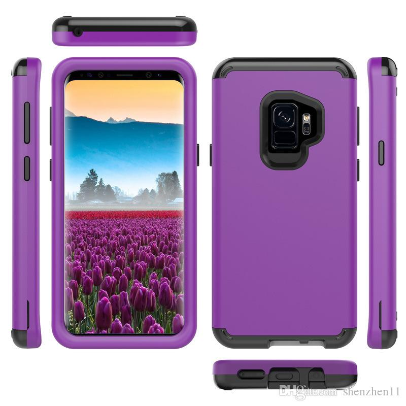 Quality Hybrid Defender Cases For Phone and samsung designs Rugged Armor Shockproof phone case For Samsung S8 s9 plus Note 8 SCA418