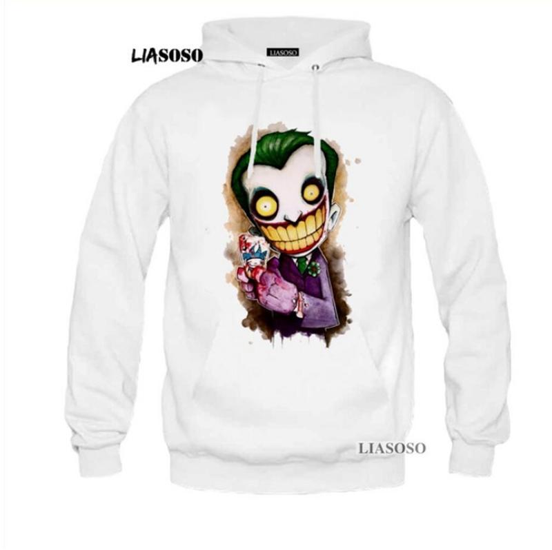 30a1462754bb 2019 Hot Men Women 3D Print Joker Suicide Squad Sweatshirt Hoodies Tops  Pullover Y65 From Hj272211689