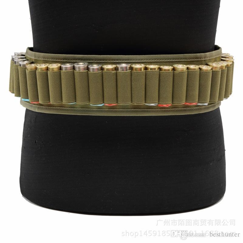 Тактический сверхмощная винтовка оболочки слинг 12GA. 20GA. Боеприпасы Airsoft Регулируемая Винтовка Патронный Ремень Открытый Спорт Охота Аксессуары